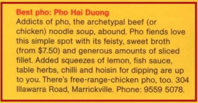 Best Pho Review